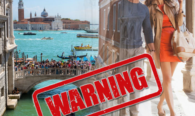 Tourist WARNING: Venice to separate travellers and locals amid anti-tourism anger