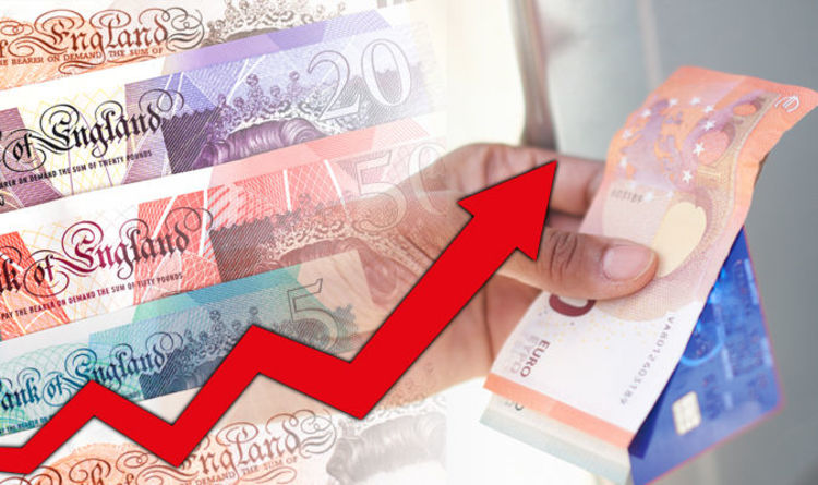 Pound to euro exchange rate: Sterling improves to reach HIGHEST figures this week