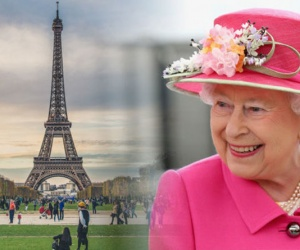 Queen Elizabeth surprises locals after being overheard doing this in France